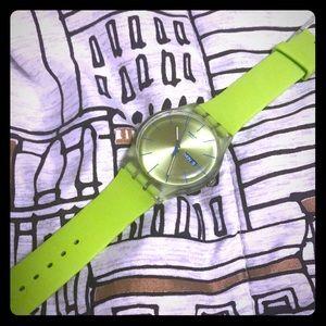 Men's swatch watch